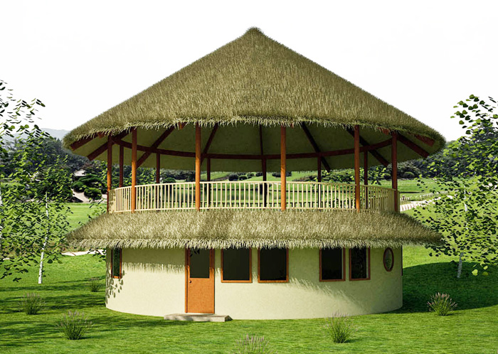 Two bedroom roundhouse Build 2 bedroom house