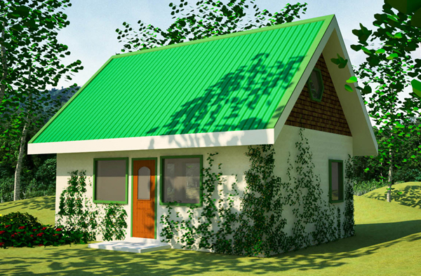 Green house plan for Build a green home